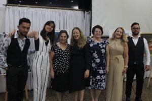 Artistas francanos convidados por Noêmia Lemos também marcaram presença no evento (Foto: Germano Martiniano)